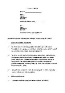 Sample Letter Intent Construction