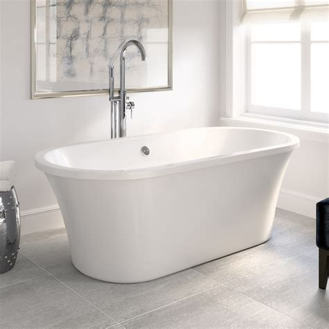 Freestanding Bath Tub Roll Top Bath Designer Double Ended