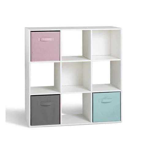 meubles de cuisine d occasion pas cher compo cube 9 cases blanc 91 x 91cm achat vente meuble