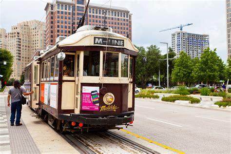 McKinney Avenue Trolley, Dallas, Texas, United States ...