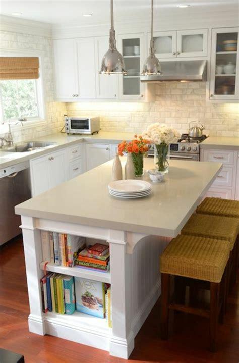 petit ilot cuisine la cuisine avec îlot central idées de décoration et
