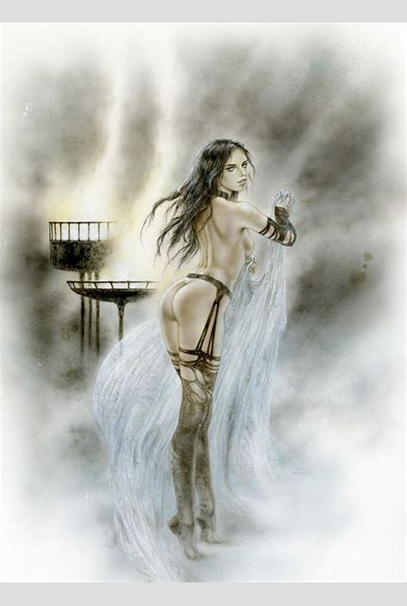 Luis Royo Blue Prince Companion, in T Freeman's Luis Royo (some nudity) Comic Art Gallery Room