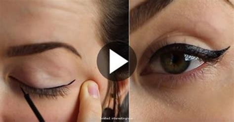 How To Apply Eyeliner Properly, See Full Tutorial ...