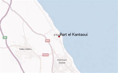 meteo port el kantaoui port el kantaoui location guide