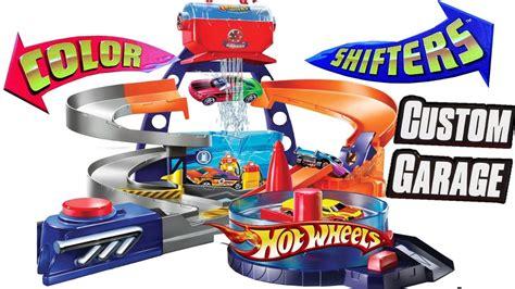 color changers playset custom garage shop set hot wheels