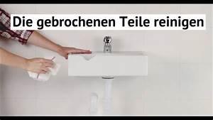Mineralguss Waschbecken Reparieren : waschbeckenreparatur youtube ~ A.2002-acura-tl-radio.info Haus und Dekorationen