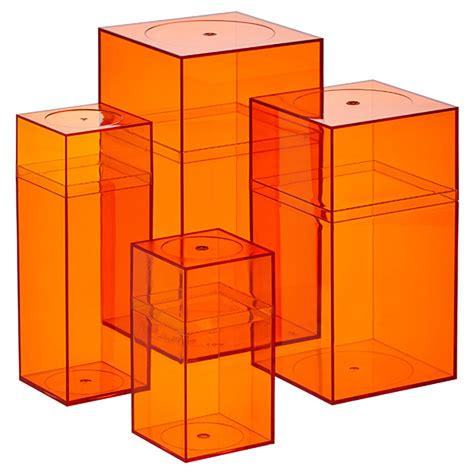 Amac Boxes by Orange Amac Boxes The Container Store