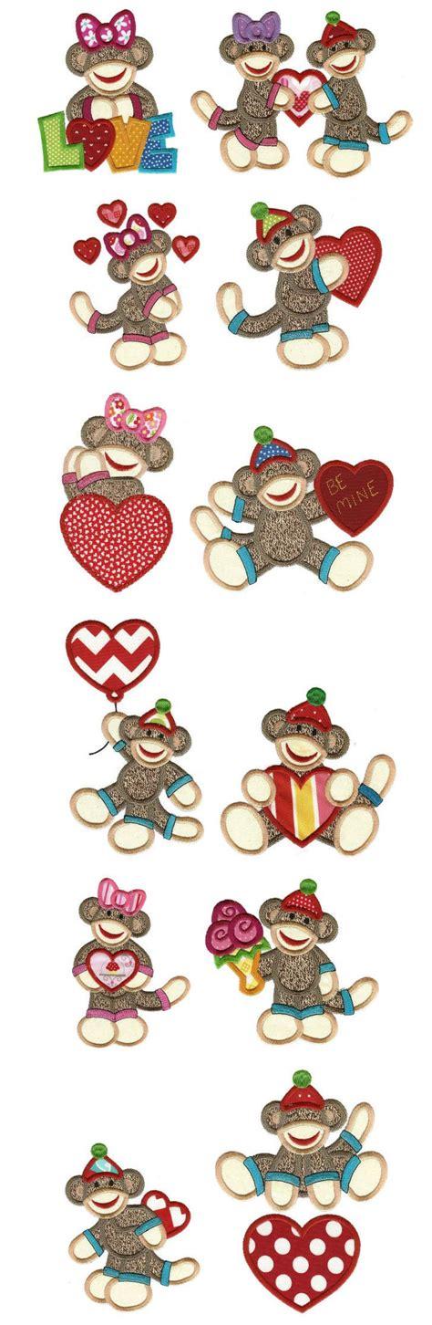 monkey applique embroidery applique machine embroidery designs