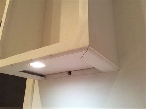 how to hide under cabinet lighting wires under cabinet quot puck quot lights how to hide them