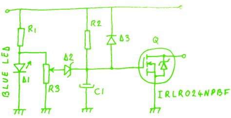 Mosfet Inrush Current Limiter