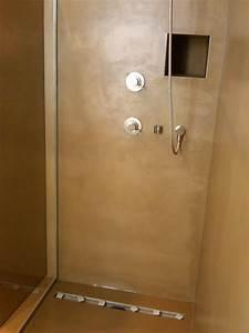 Bodenbelag Für Dusche : fugenlose wand u bodengestaltung ~ Michelbontemps.com Haus und Dekorationen