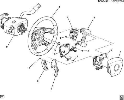 2008 2015 buick enclave steering wheel wire harness new oem 15117683 15117682 ebay