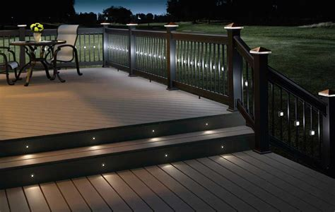 solar deck lighting enhance your deck comfort advice