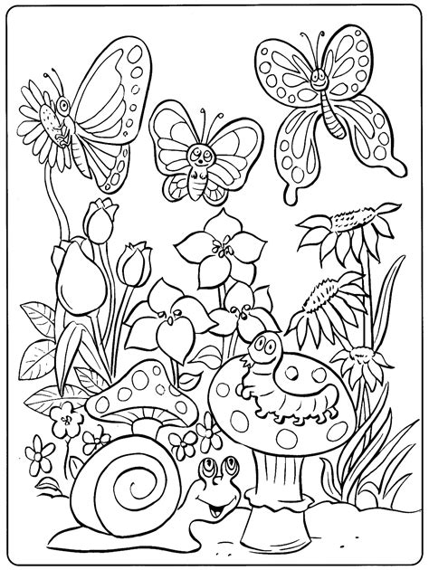 Coloring Pages Animals by Toddler Coloring Pages