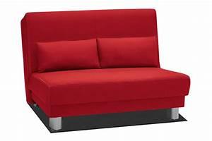 Banquette 120 Cm : bz en 120 cm enzo rouge ~ Melissatoandfro.com Idées de Décoration