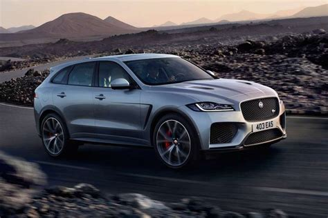 New York 2018 Jaguar Fpace Svr Gets A Healthy Dose Of