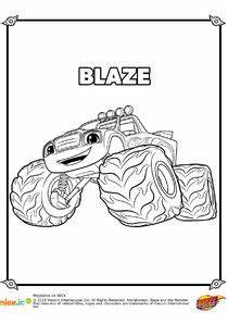 Coloriages Blaze Et Les Monster Machines à Imprimer