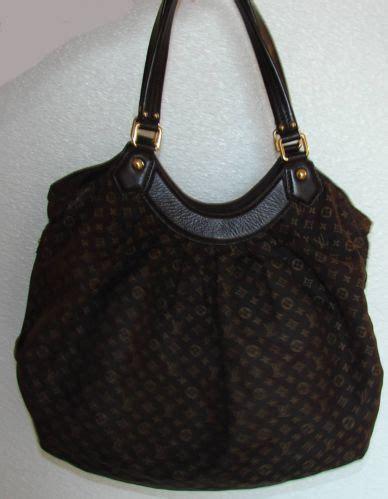 authentic louis vuitton monogram idylle fantaisie fusain brown bag