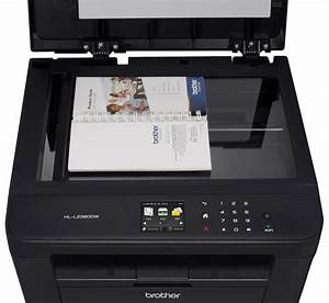 Amazoncom brother hl l2380dw wireless monochrome laser for Brother hl l2380dw document feeder