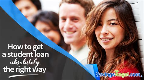 How To Get A Student Loan Absolutely The Right Way