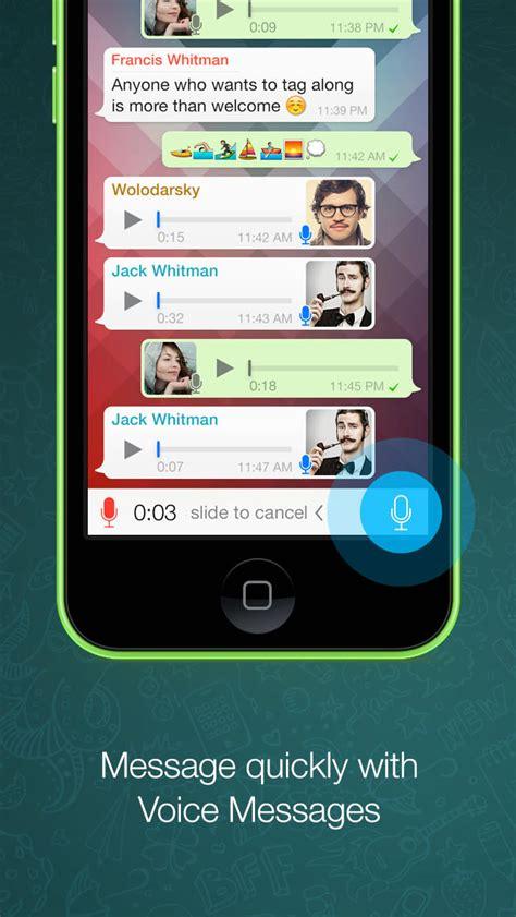 whatsapp messenger updated    features
