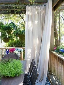 Outdoor Vorhänge Ikea : als sichtschutz eignen sich vorh nge sehr gut balkon pinterest balconies gardens and garten ~ Yasmunasinghe.com Haus und Dekorationen