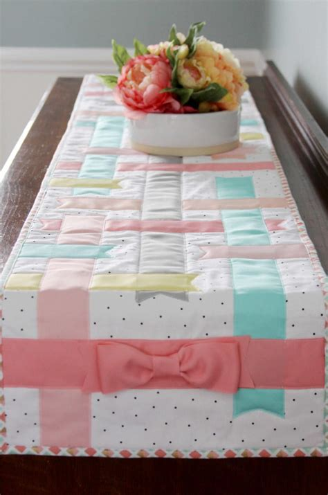 spring time table runner allfreesewingcom