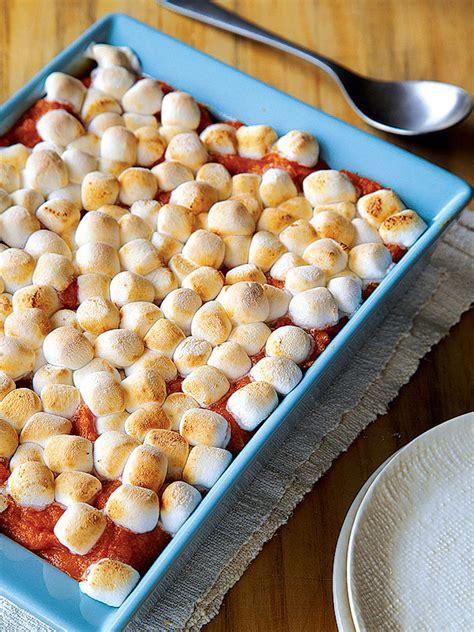cooking light sweet potato casserole recipe low fat sweet potato marshmallow casserole great