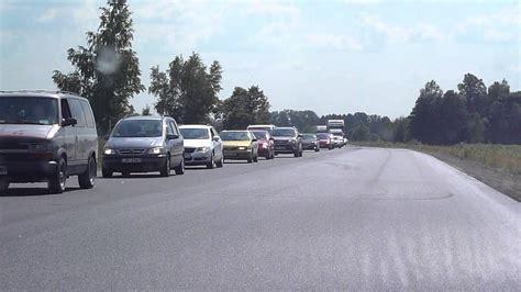 Sastrēgums uz Tallinas šosejas - Gaujas tilts / Ādaži - 07 ...