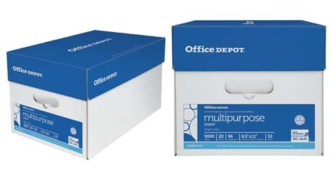 Office Depot Coupons Free Gift With Purchase by Office Depot 40 Rebate On Paper Purchase Southern Savers