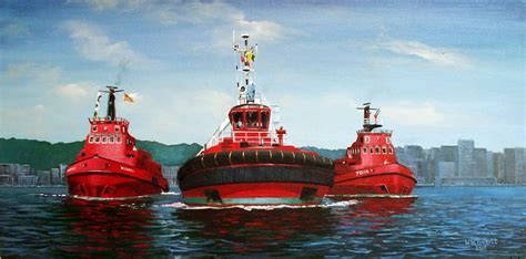 Tugboat Wellington by Transpress Nz The Tug Taiki