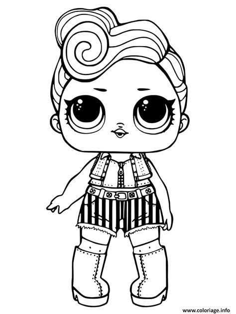coloriage lol surprise dolls dessin