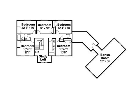 colonial house floor plans colonial house plans lansford 30 314 associated designs