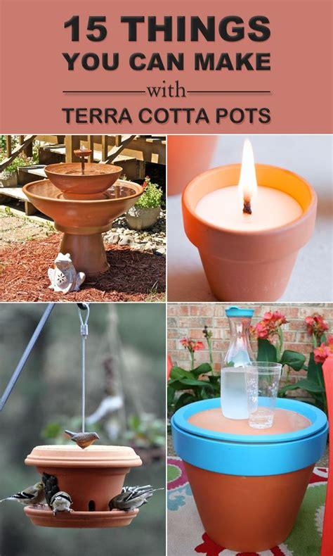 images  terra cotta pot crafts  pinterest