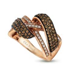 chocolate gold engagement rings chocolate rings gold le vian k gold chocolate crossover ring