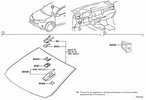 Toyota Rav4 Hood Sub-assembly  Forward Recognition With Heater