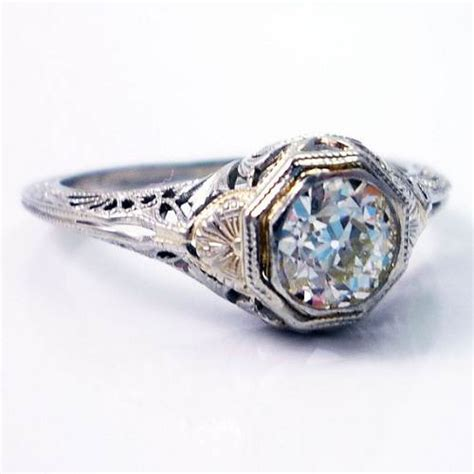 deco ring etsy deco engagement ring designs