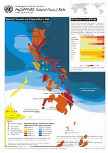 Philippines Natural Hazard Risks As Of 08 Mar 2007