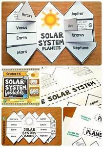One Of A Kind Solar System Foldable To Learn Or Review