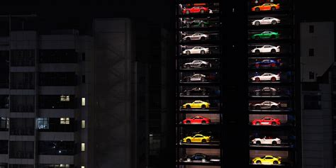 This Vending Machine In Singapore Dispenses Luxury Cars