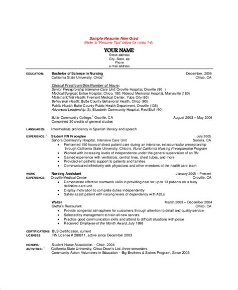 clinical resumes sample cv for medical and surgical nurse