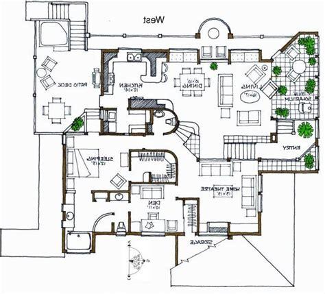 house pla contemporary villa plans