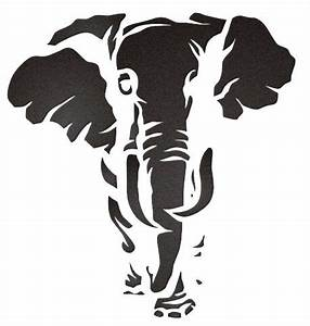elephant stencil | Artistic Silhouettes!!! | Pinterest ...