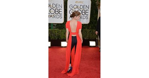 Emma Watson The Golden Globes Raf Simons For