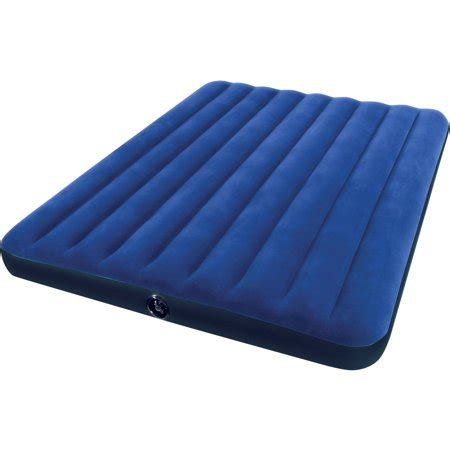intex air mattress walmart intex classic downy airbed walmart