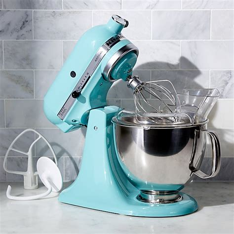 Kitchenaid Mixer Aqua Sky by Kitchenaid Ksm150psaq Artisan Aqua Sky Stand Mixer Crate