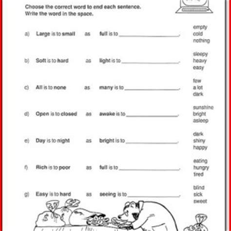 2nd grade language arts worksheets printables the best