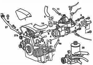 1995 Mercedes C280 Engine Diagram