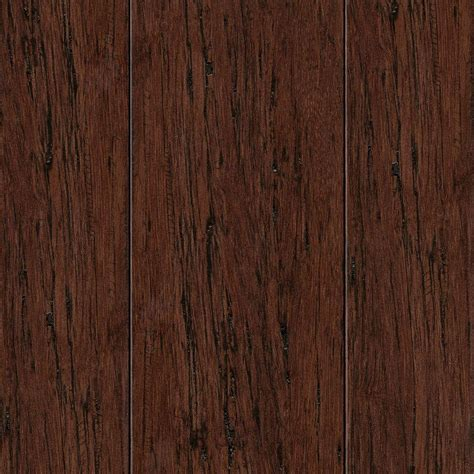 home legend hand scraped strand woven mocha 3 8 in thick