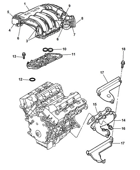 2007 Dodge Charger Engine Diagram by Dodge Engine Diagram Of Intake Wiring Library